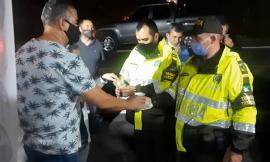 Policía de tránsito en Manizales realiza campaña de prevención para disminuir la accidentalidad vial