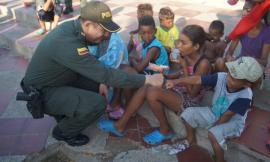 trabajamos por la protección de los niños de la guajira