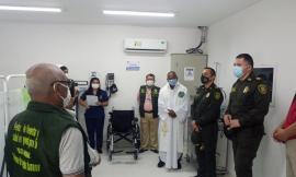 sanidad policial-salud policia-sala de procedimientos menores-policia santa marta-policia magdalena