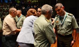 Ceremonia aniversario institucional 128 en Medellín