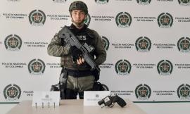 Gracias a la colaboración de la ciudadanía logramos halar un arma de fuego