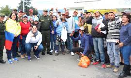 En carreteras de Nariño se beneficiaron a más de 500 Venezolanos