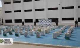 Incautamos 2,4 toneladas de clorhidrato de cocaína en La Guajira