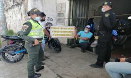 Realizamos campaña contra el hurto a motocicletas