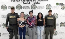 'Las Jevas', mujeres que lideraban una banda transnacional
