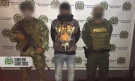 Capturado 'el peruano' coordinador del grupo delincuencial 'la torre'
