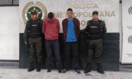 Capturada-extorsionistas-gaula-Bogotá