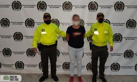 """Capturada """"la gallo"""" coordinadora de grupo delincuencial dedicado al hurto a comercio"""