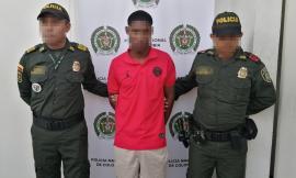 Capturado ciudadano en flagrancia por el delito de lesiones personales