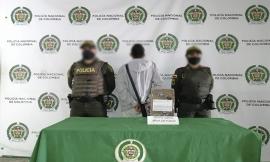 Capturamos un hombre de 21 años por porte ilegal de armas de fuego