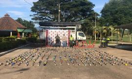 Nuevo golpe a las bandas del narcotráfico en el Huila