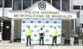 En instalaciones policiales de la sijin es capturado un hombre mientras solicitaba antecedentes