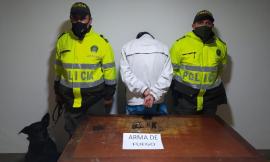 En la lucha frontal contra el homicidio y el porte ilegal de armas de fuego fue capturado un ciudadano