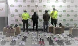 Capturadas dos personas por el hurto a empresa de calzado en Bogotá
