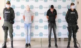 Dos hombres fueron capturados en flagrancia por el delito de extorsión