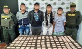 Capturamos cuatro personas por realizar rifas ilegales en el municipio de Chalán