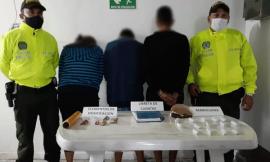 Tres Capturados por tráfico de estupefacientes en diligencia de allanamiento en Acacías