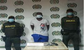 Capturamos en flagrancia presunto integrante de 'los palmeños' con un arma ilegal