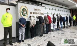 Fueron capturados 12 personas y enviadas a la cárcel