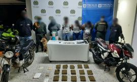 """Capturamos a """"los propios"""" por tráfico de estupefacientes en Villanueva Casanare"""