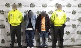 Capturados tras operativos de la Policía