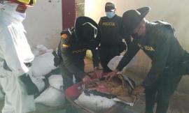 Incautados 625 kilos de carne sin permiso sanitario