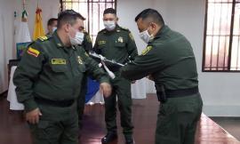 A tres integrantes del nivel ejecutivo de la policía se les impuso el nuevo grado