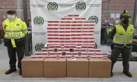 Incautamos 2.000 cajetillas de cigarrillos sin manifiesto de importación