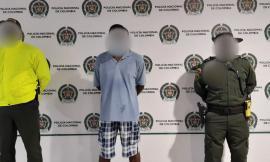 El ciudadano capturado fue puesto a disposición de la Fiscalía General de la Nación
