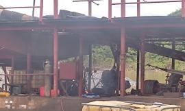 Una mina intervenida en el municipio de Cértegui Chocó