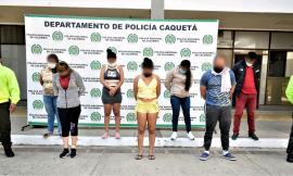 Desarticulamos organización criminal dedicada al narcomenudeo en Caquetá
