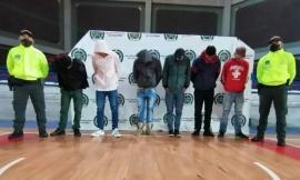 Desarticulamos grupo de delincuencia común en Chiquinquirá, Boyacá