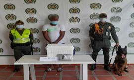 Detectamos encomienda con cocaína en el aeropuerto de Quibdó.