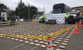 Policía Nacional en ofensiva contra el tráfico de drogas, se incauta 814 kilos de Clorhidrato de Cocaína
