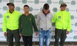 Capturados dos presuntos atracadores