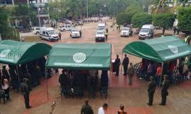 Estos vehículos que están destinados a fortalecer el parque automotor de las estaciones de policía de los municipios de San José de Guaviare, del Retorno y de Calamar.