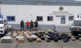 Logramos incautar una tonelada de marihuana avaluada en 3.000 millones de pesos.