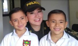 Patrullera Leidy Paulina Cárdenas Parra, una mujer hecha arte
