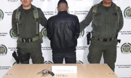 Capturado por el delito de porte en el municipio de Ipiales