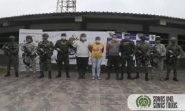 Capturados Operación Raudal