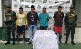 Personas capturadas, por el delito de fabricación, tráfico y porte de estupefacientes