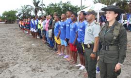 La Policía Nacional realiza campañas preventivas en el municipio de Tumaco