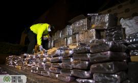 Incautados 600 kilos de marihuana en un vehículo
