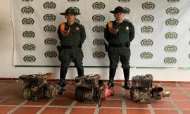 Incautamos-cinco-(5) motores-que-eran-utilizados-para-la-explotación-ilegal-de-la-minería.
