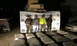 Incautamos más de 450 kilos de marihuana que transitaban por las carreteras costeras del país