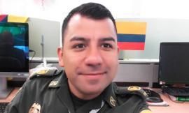 Intendente Rodrigo Motivar, ilustrador Policía Nacional de Colombia