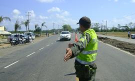 En operativos de control sobre las vías de bolívar.