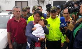 La madre de la pequeña es de nacionalidad venezolana.