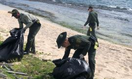 Adelantamos jornada de limpieza a las playas de Sound Bay