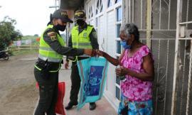 Policía del Cauca continúa efectuando actividades preventivas y de control contra la propagación del COVID-19